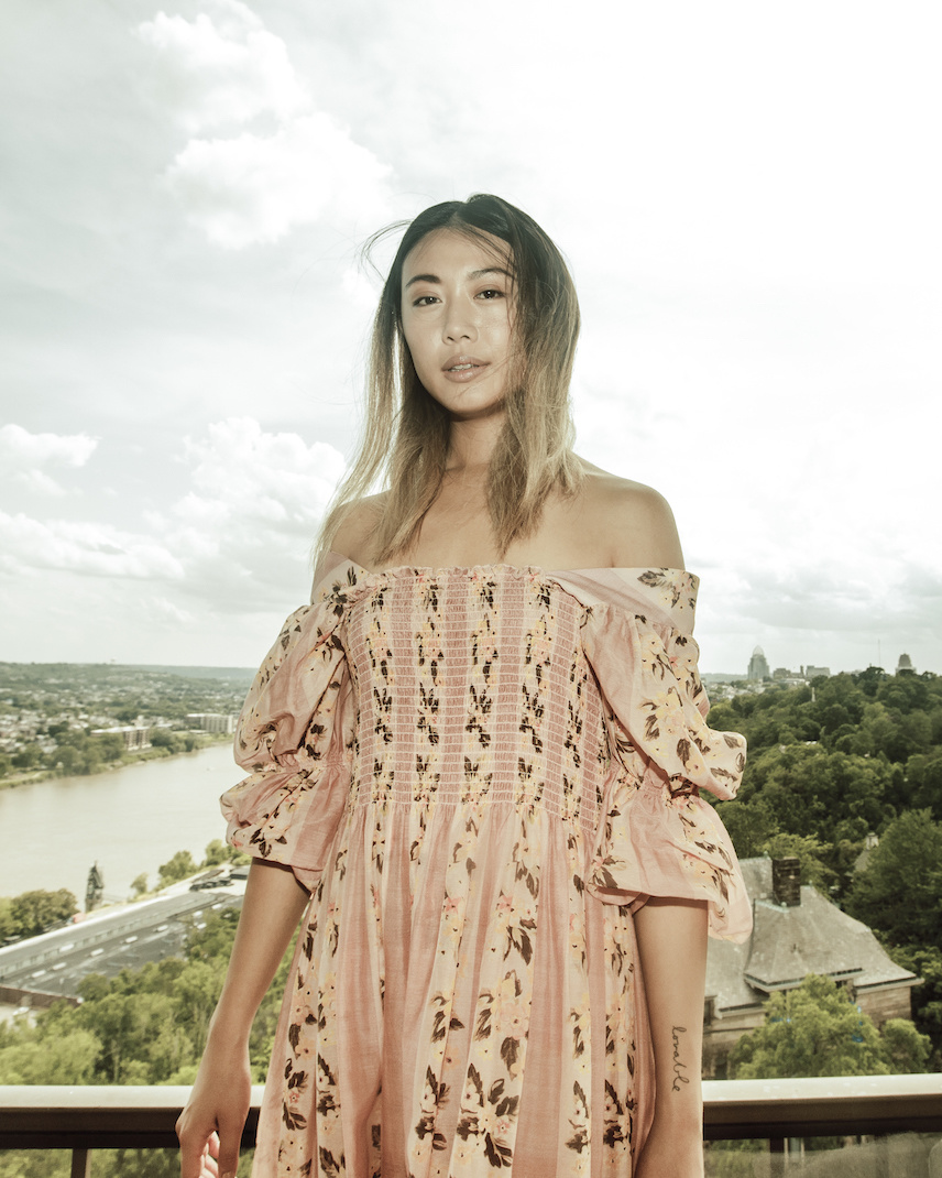 Rachel Antonoff Claire Smock Dress