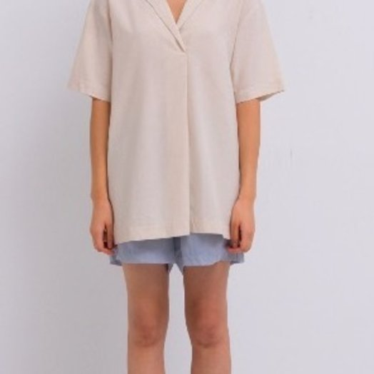 Amomento Raw Silk Shirt