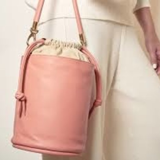 Hozen Bucket Bag, Vegan, Roseate