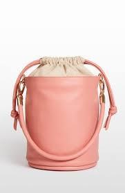 Hozen Bucket Bag, Vegan, Roseate