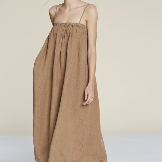 Filosofia Leah Dress, Wheat