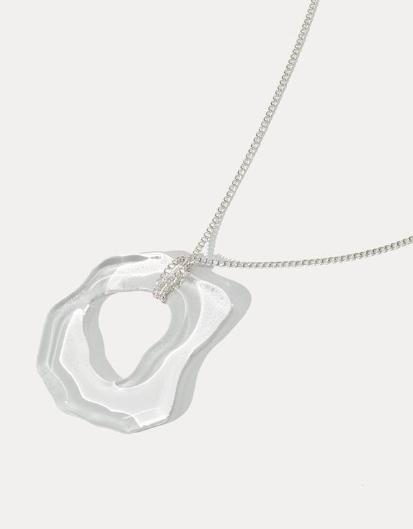 Cled High Tide Necklace, Clear Air