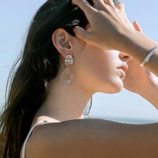 Cled Coastline Earrings, Small Drop