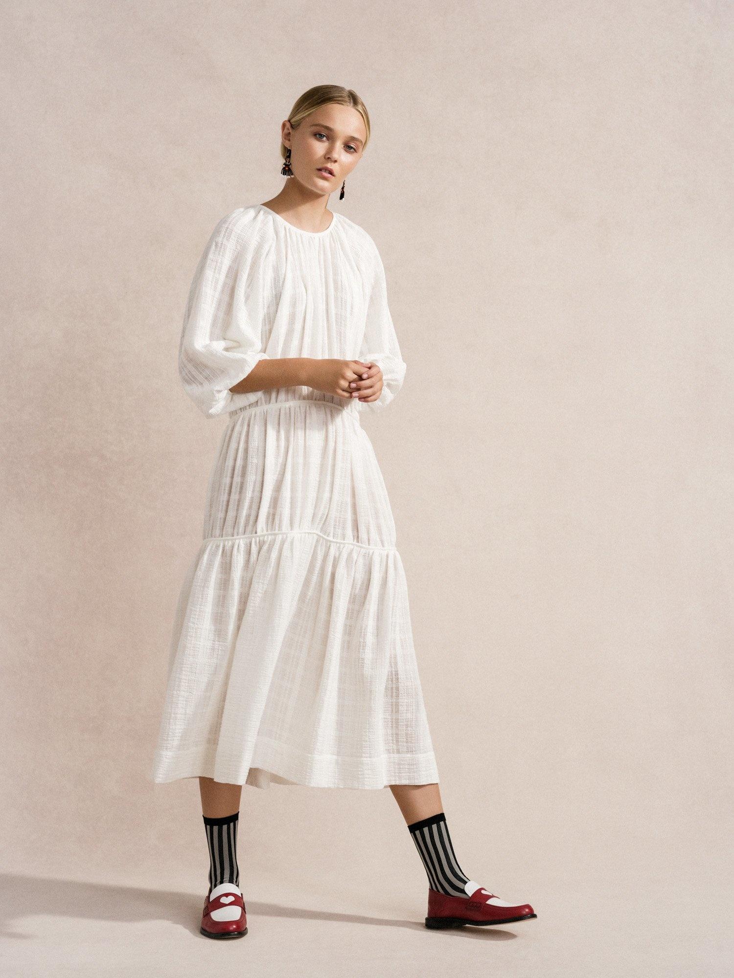 Hansel from Basel Rory Dress, White