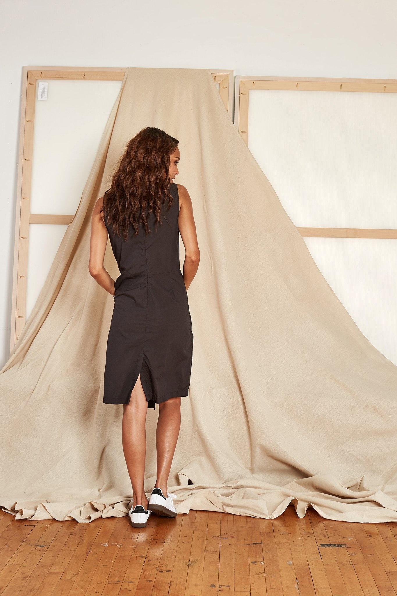 Rujuta Sheth Vienna Wrap Dress, Black