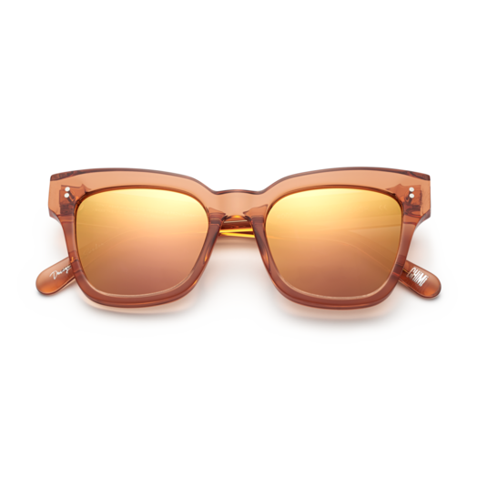Chimi Peach #005 Sunglasses with Mirror Lenses