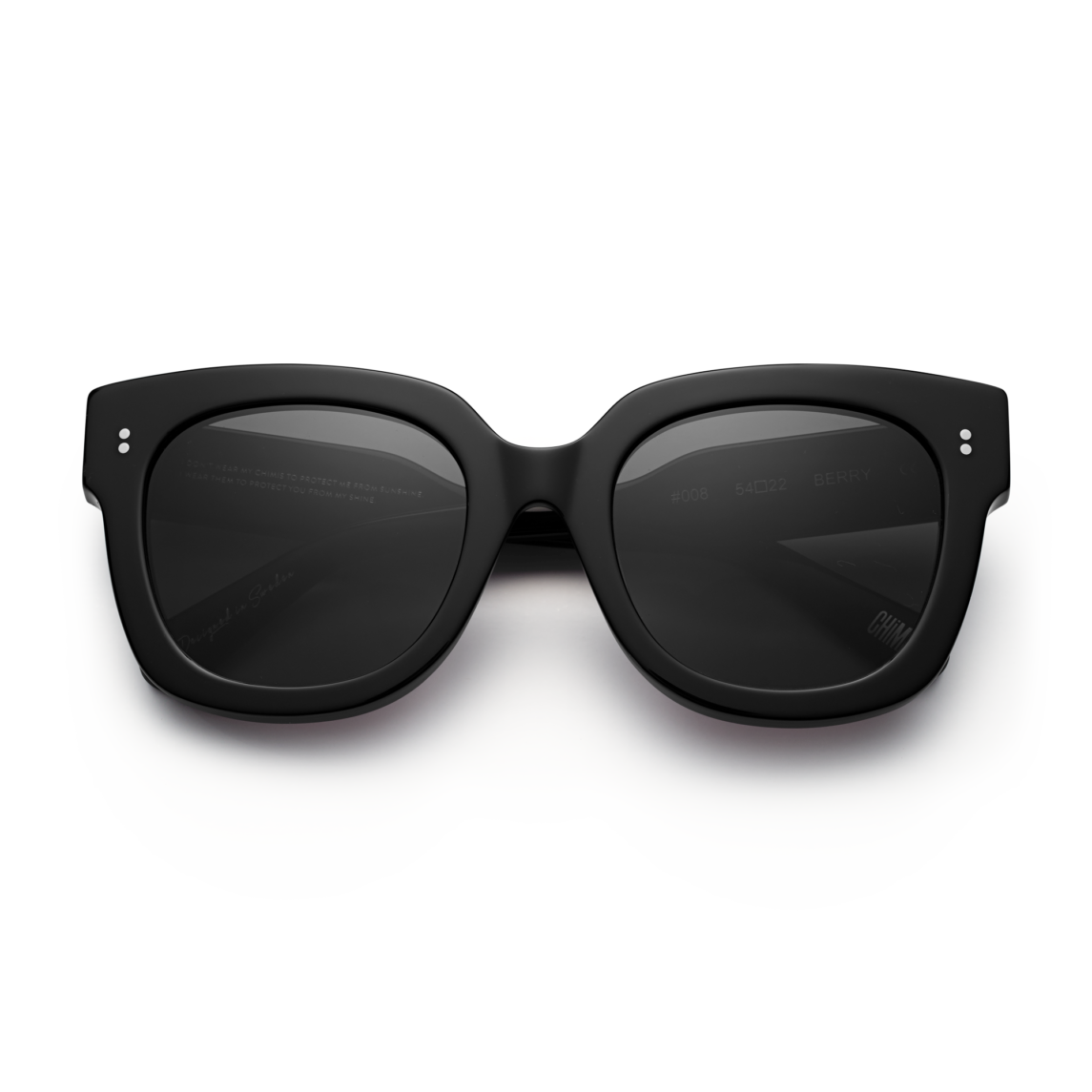 Chimi Berry #008 Sunglasses with Black Lenses