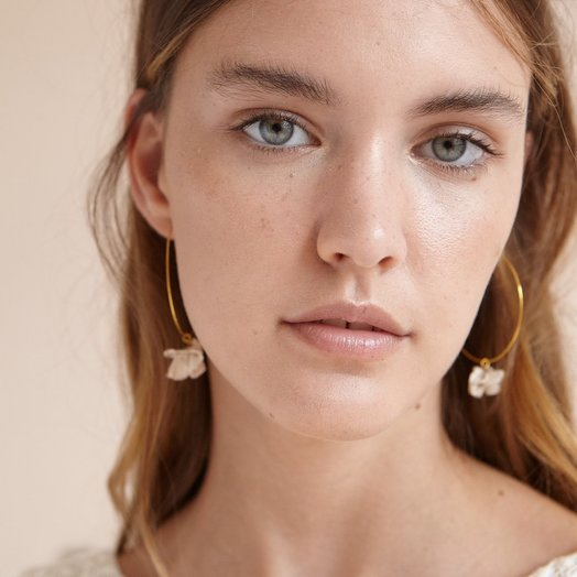 Pedrusco Camelia Hoops