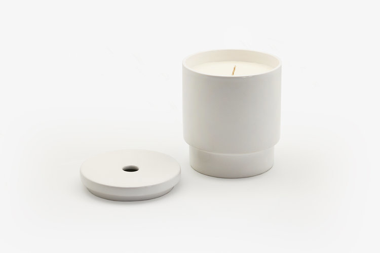 Night Space Pure White Night Space Candle