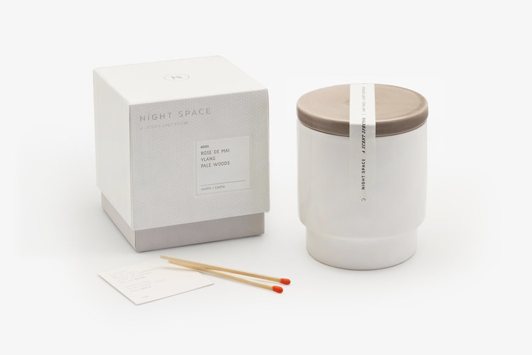 Night Space Taupe Night Space Candle