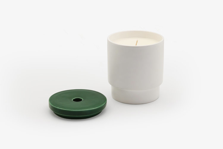 Night Space Dark Green Night Space Candle