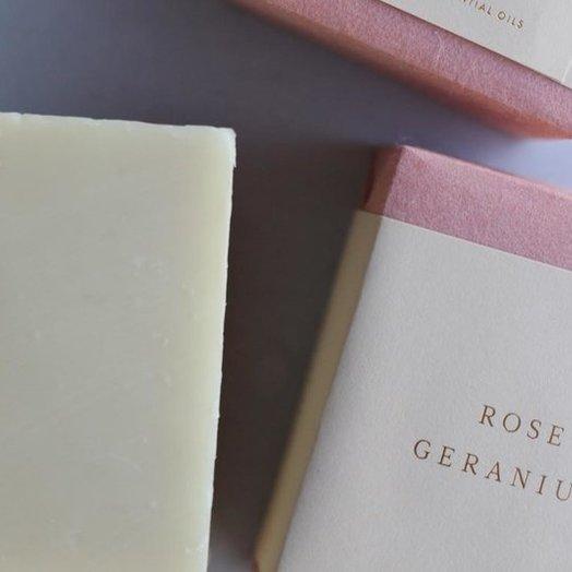 Saipua Rose Geranium Soap