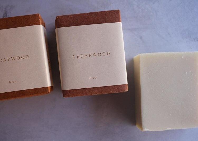 Saipua Cedarwood Soap