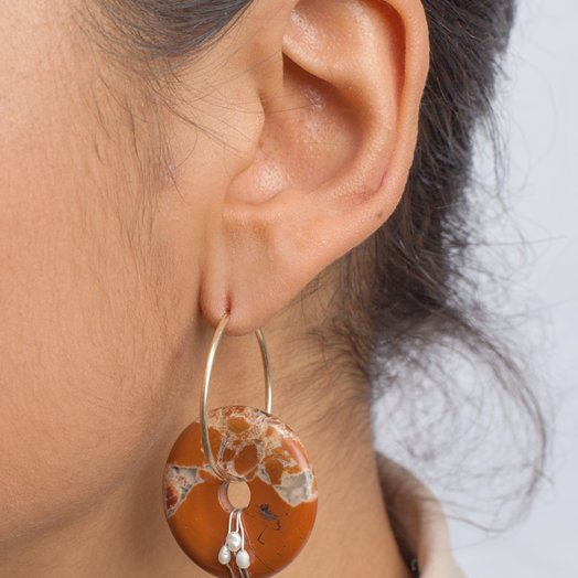 Wald Hotel Amour Earrings Red