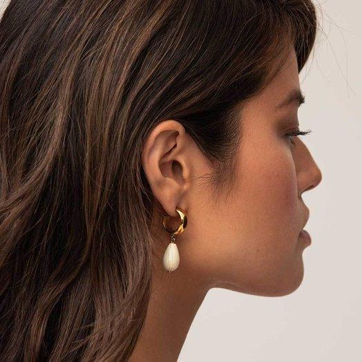 Soko Malindi Mini Hoop Earrings