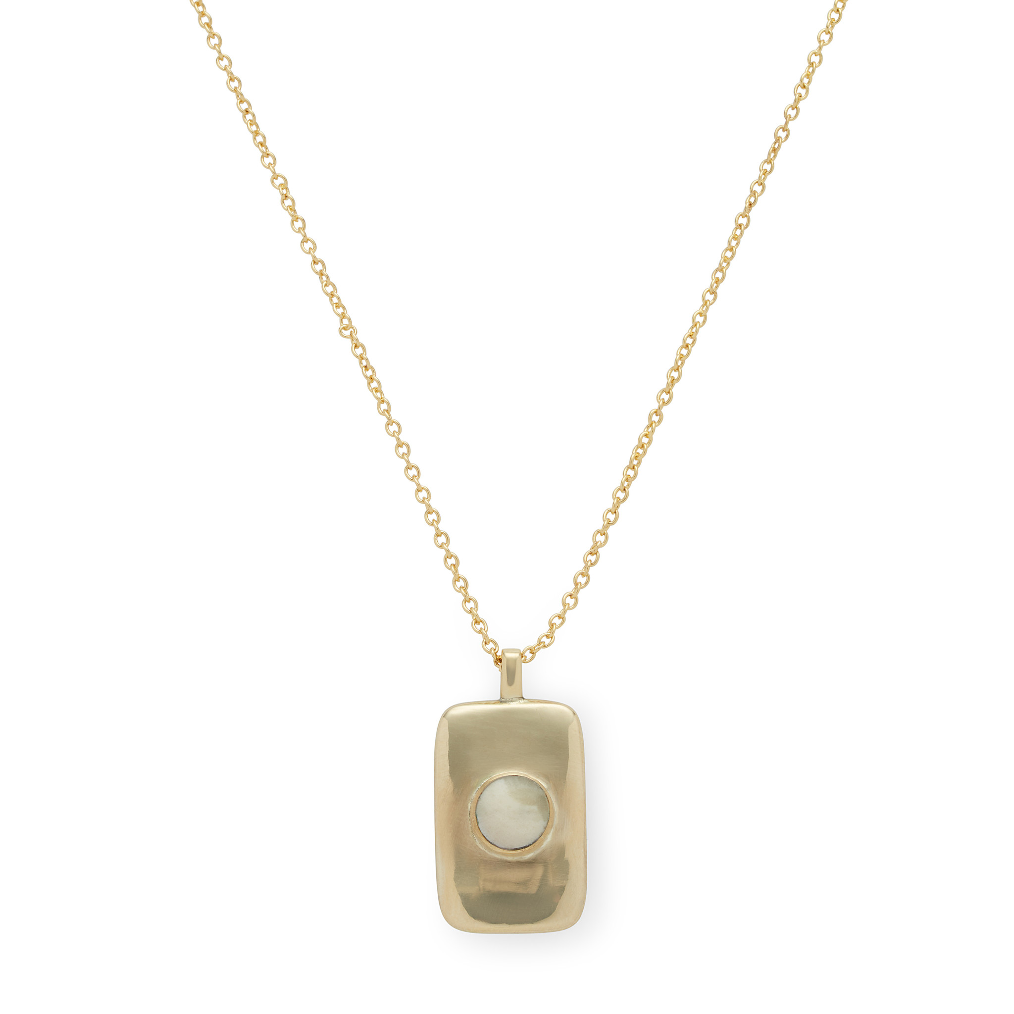 """Soko Bezeled Rectangle Medallion, 16"""" with 2"""" extension"""