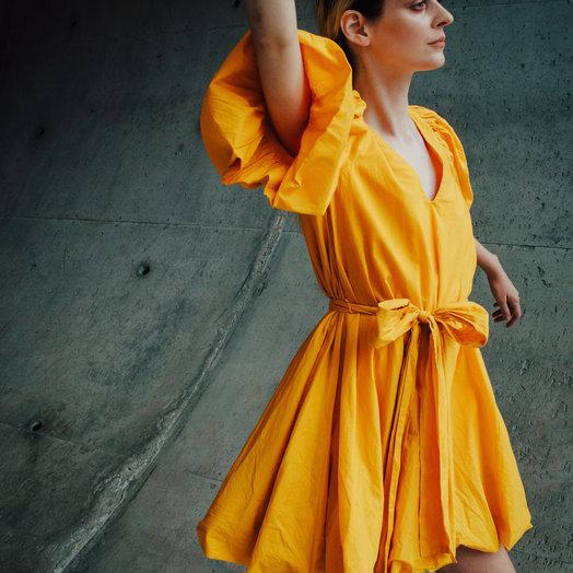 Rhode Marni Dress, Saffron