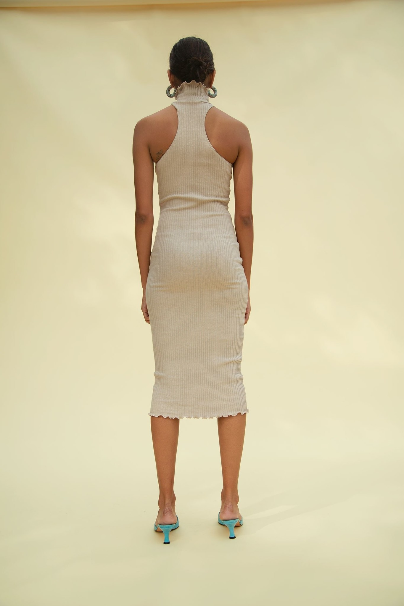 Line by K Cami Dress, Beige