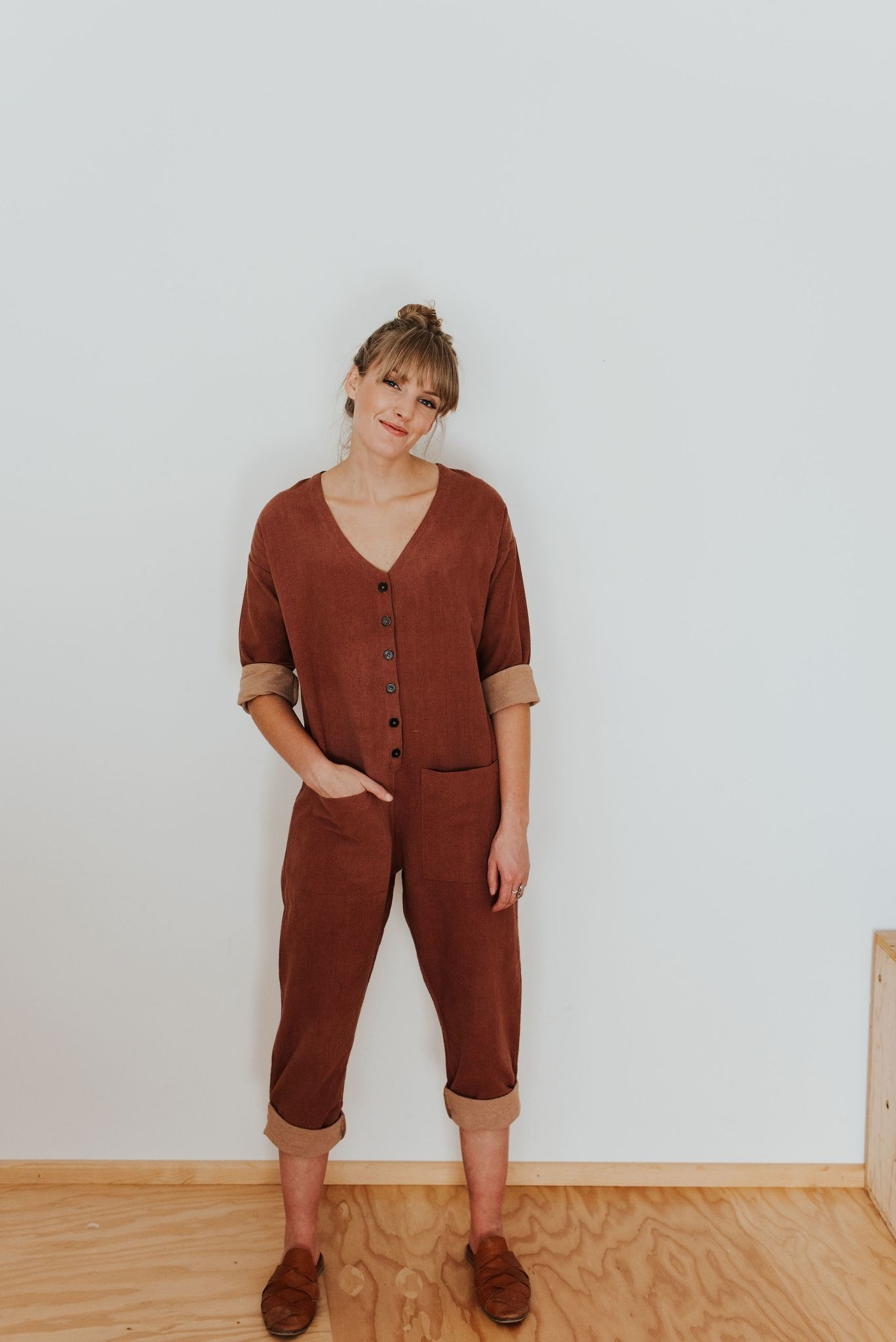 Happy French Gang Terracotta Jumpsuit