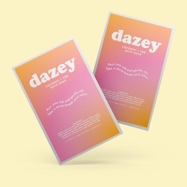 Dazey Coconut + CBD Bath Soak