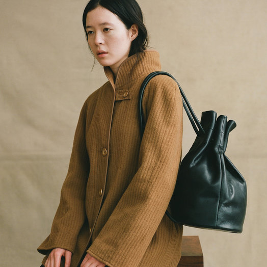 Are Studio Black Bell Oversize Backpack