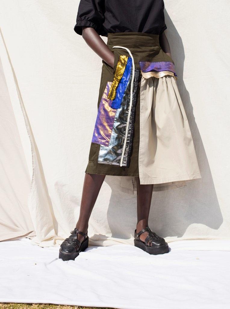 Anmari Honiball Tallic Skirt