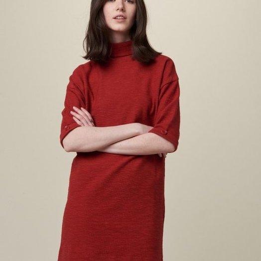 Sessun Bud Dress, Red