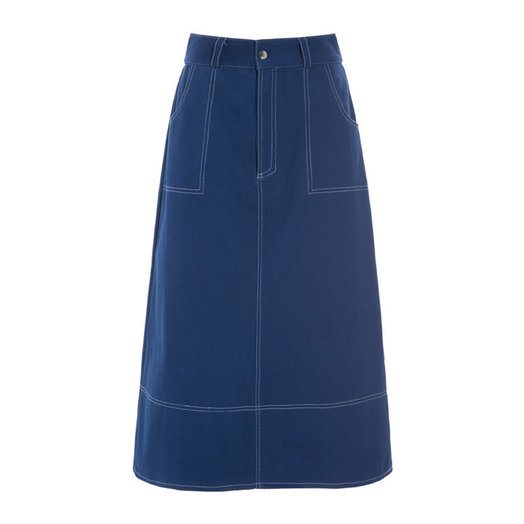 Hosbjerg Olympia Denim Skirt