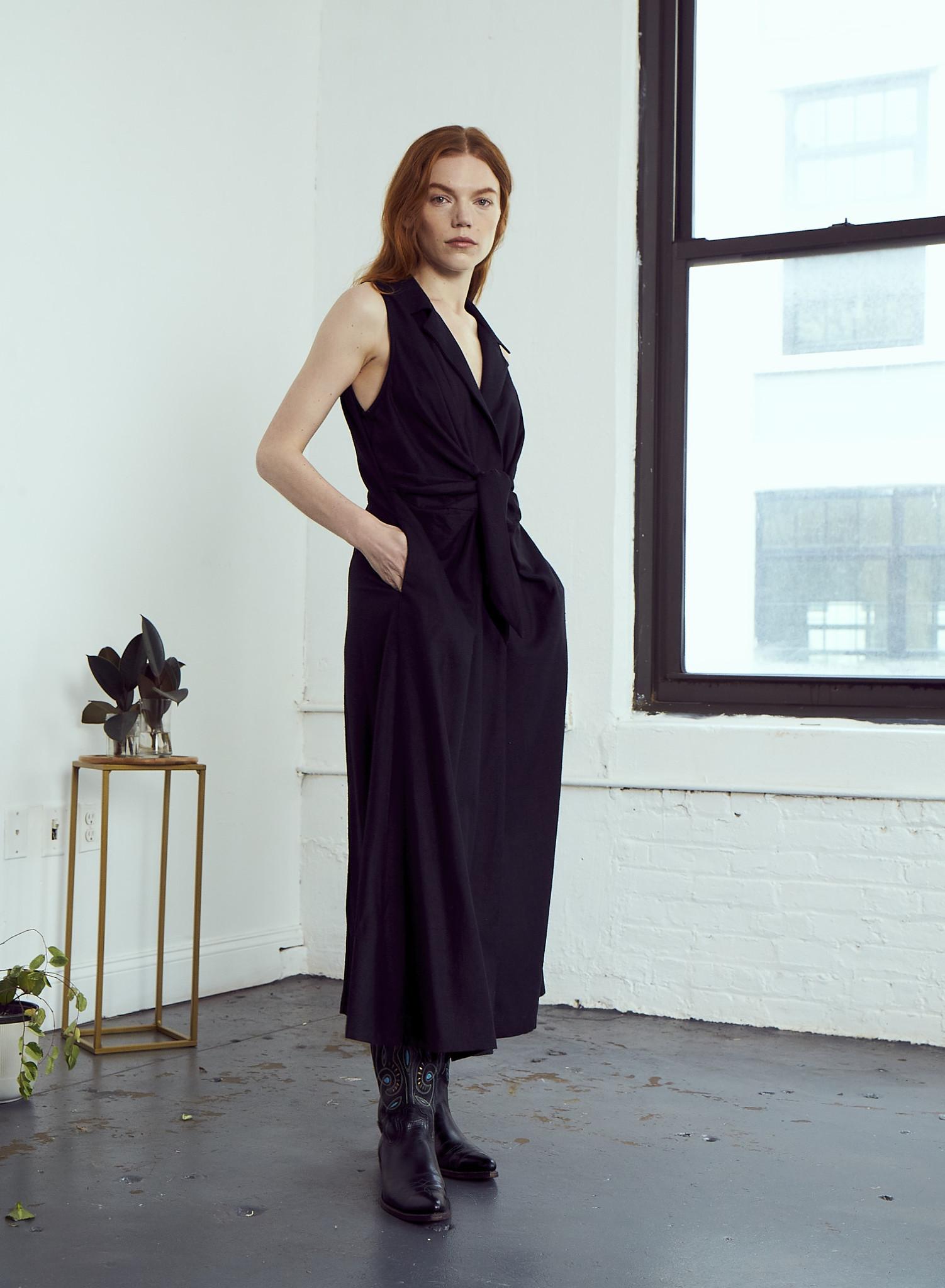 Rujuta Sheth Emily Dress, Black