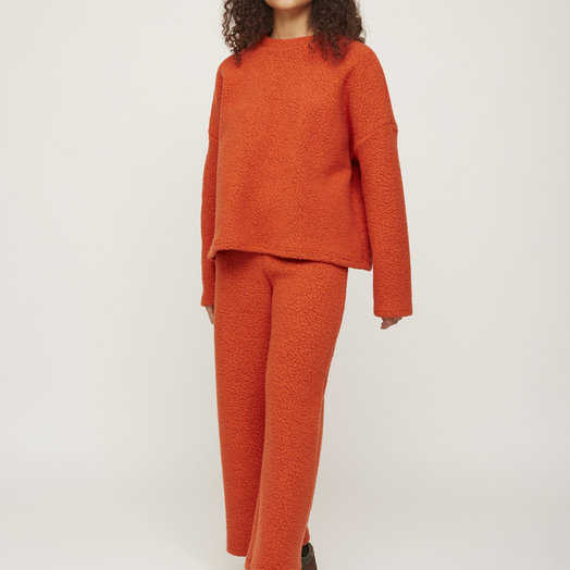 Rita Row Sweatshirt, Orange
