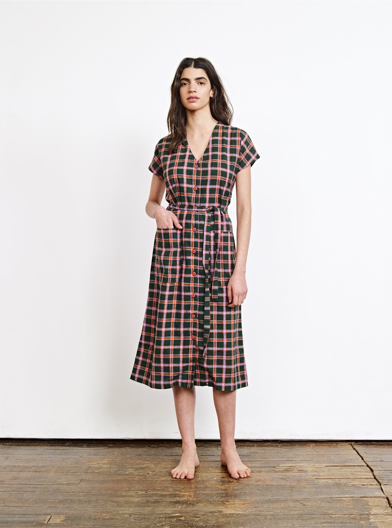 Ace & Jig Gallo Dress in Scout