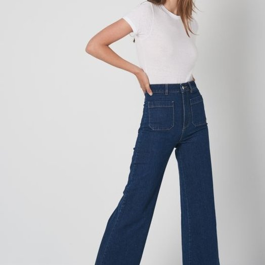 Rollas Sailor Jeans, Eco Vicki Blue