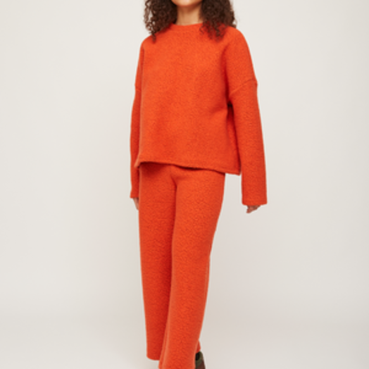 Rita Row Sweatpants, Orange