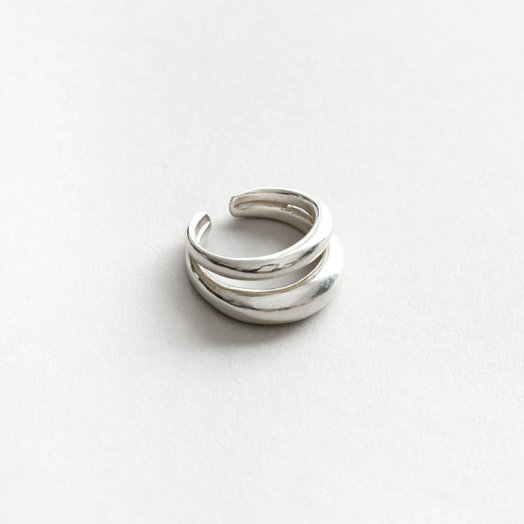Wolf Circus Kori Ring, Silver