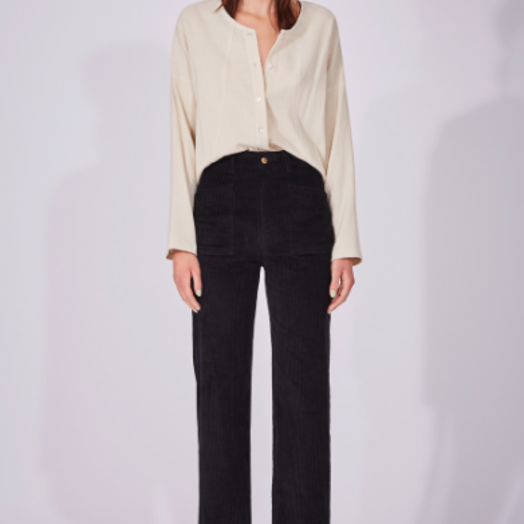 Eve Gravel Coda Shirt, Cream