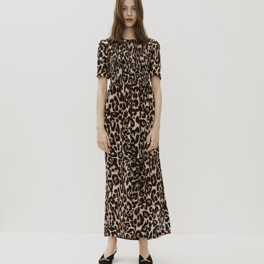 Baum Und Pferdgarten Adamaris Dress in Wild Leopard