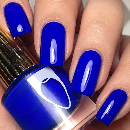 Floss Gloss El Capitan, Deep cobalt blue creme