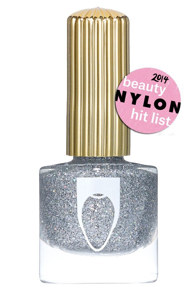 Floss Gloss Dimepiece, Silver Holographic Glitter