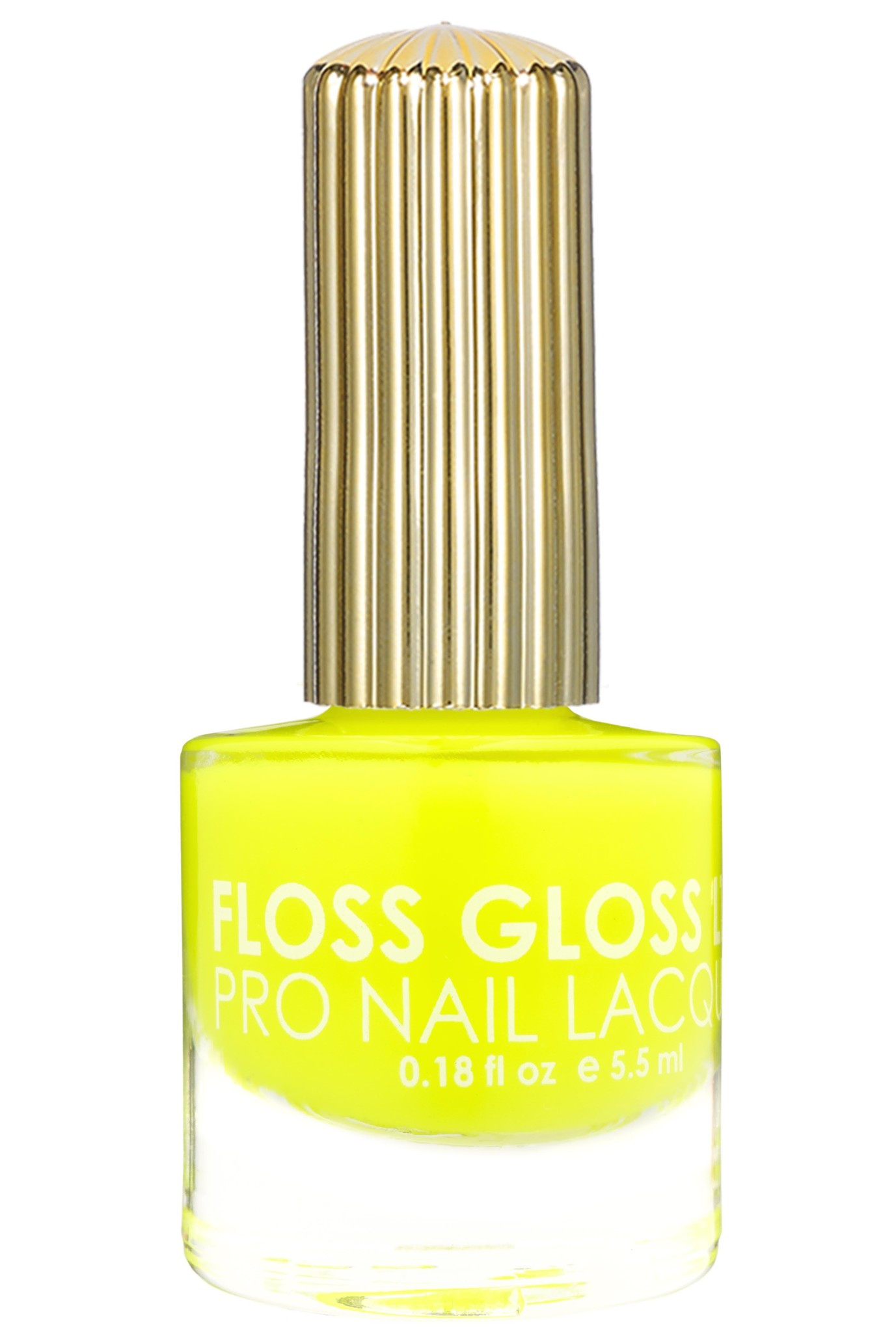Floss Gloss Hella Hilite, Neon Highlighter Yellow