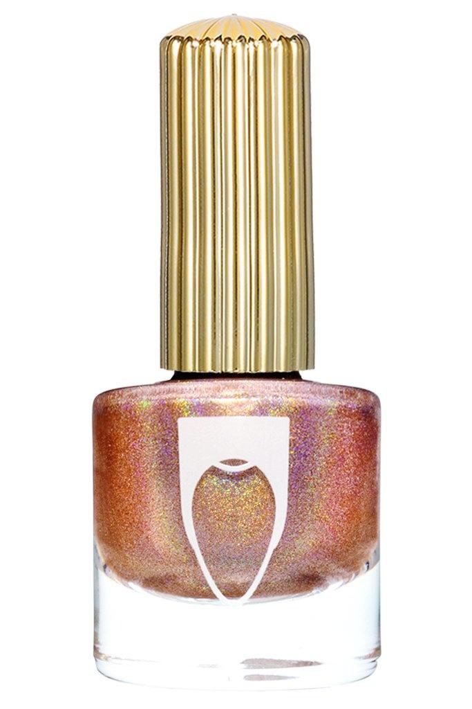 Floss Gloss Disco Dust, Rose Gold Linear Holo