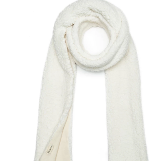 Donni Cozy Fierce Scarf, Creme