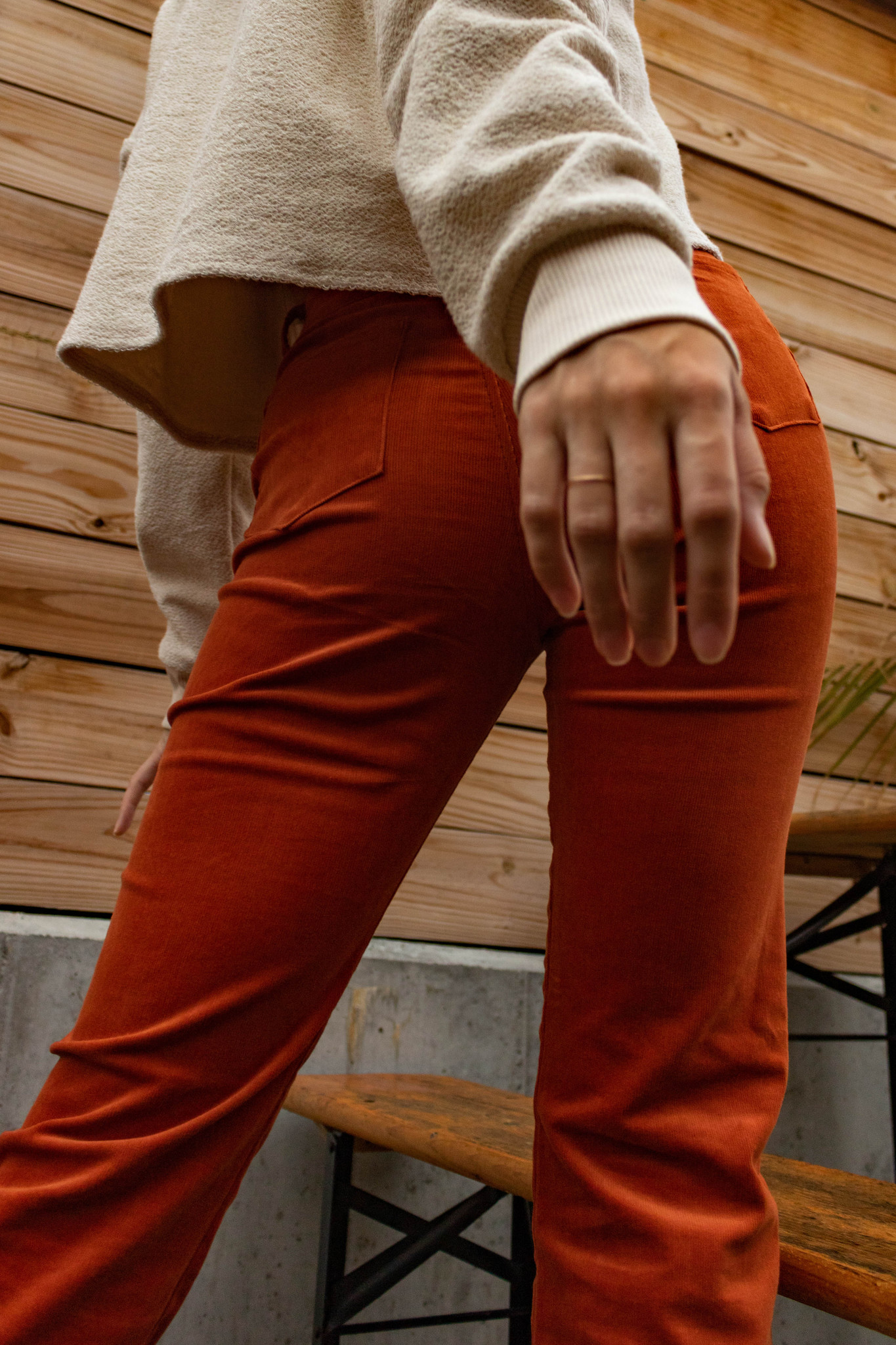 Line by K Mona Pant, Rust