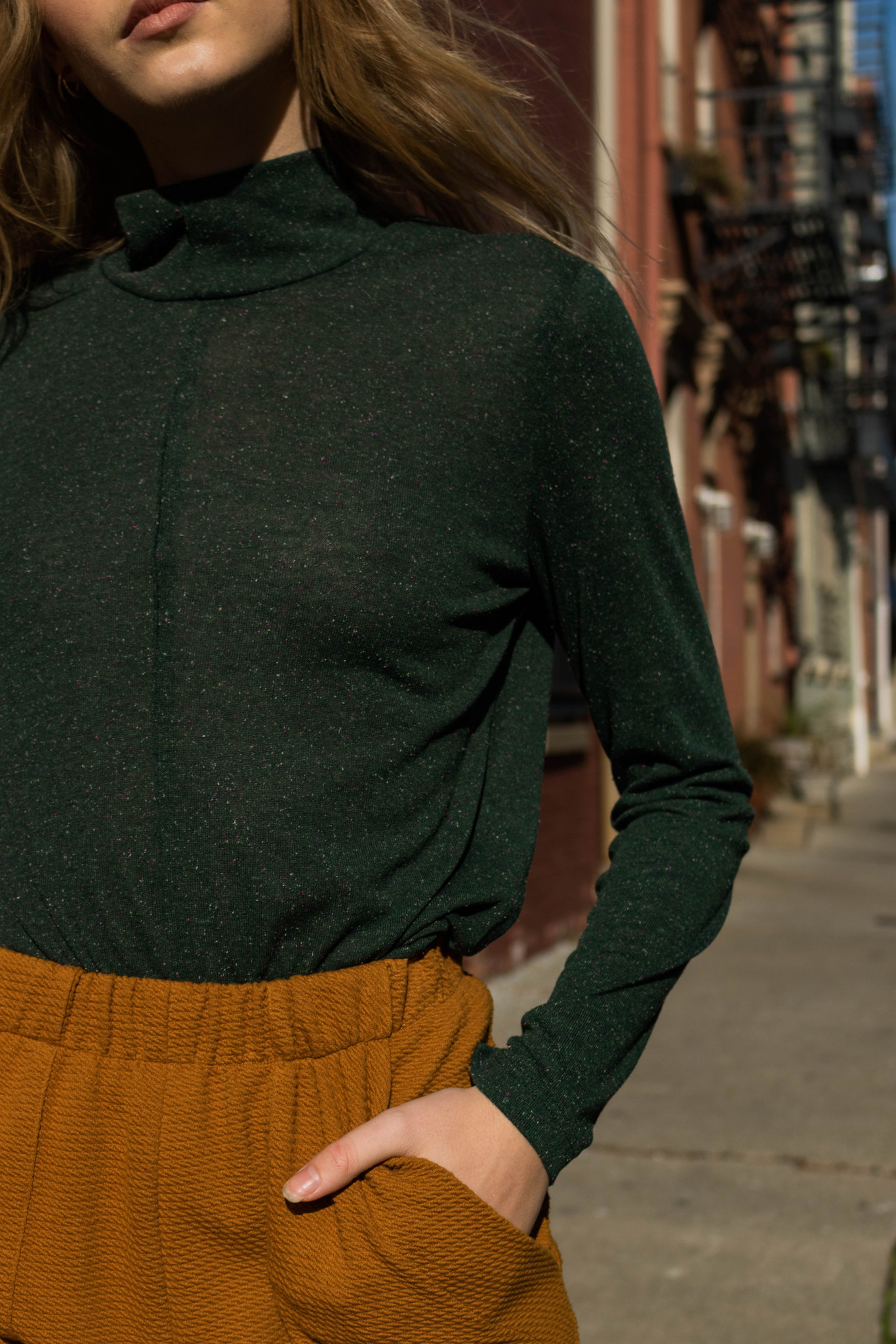 Eve Gravel A New Day Top, Spruce