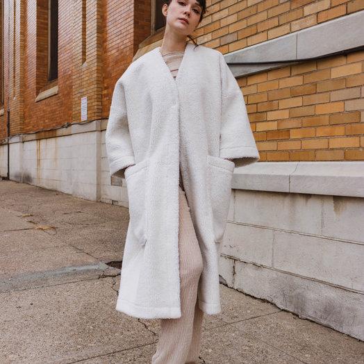 Mr Larkin Jolene Coat, Natural