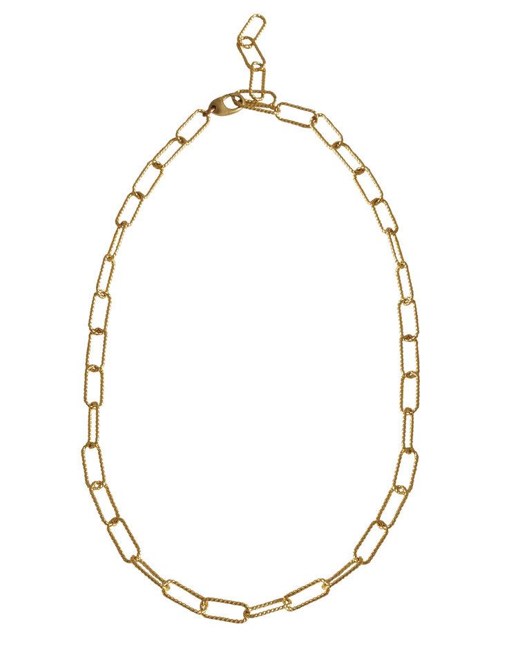 "Laura Lombardi Rosa Chain Necklace 20 """