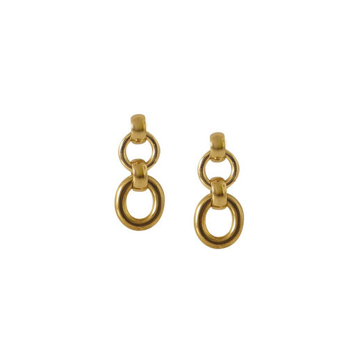 Laura Lombardi Mini Portrait Earrings