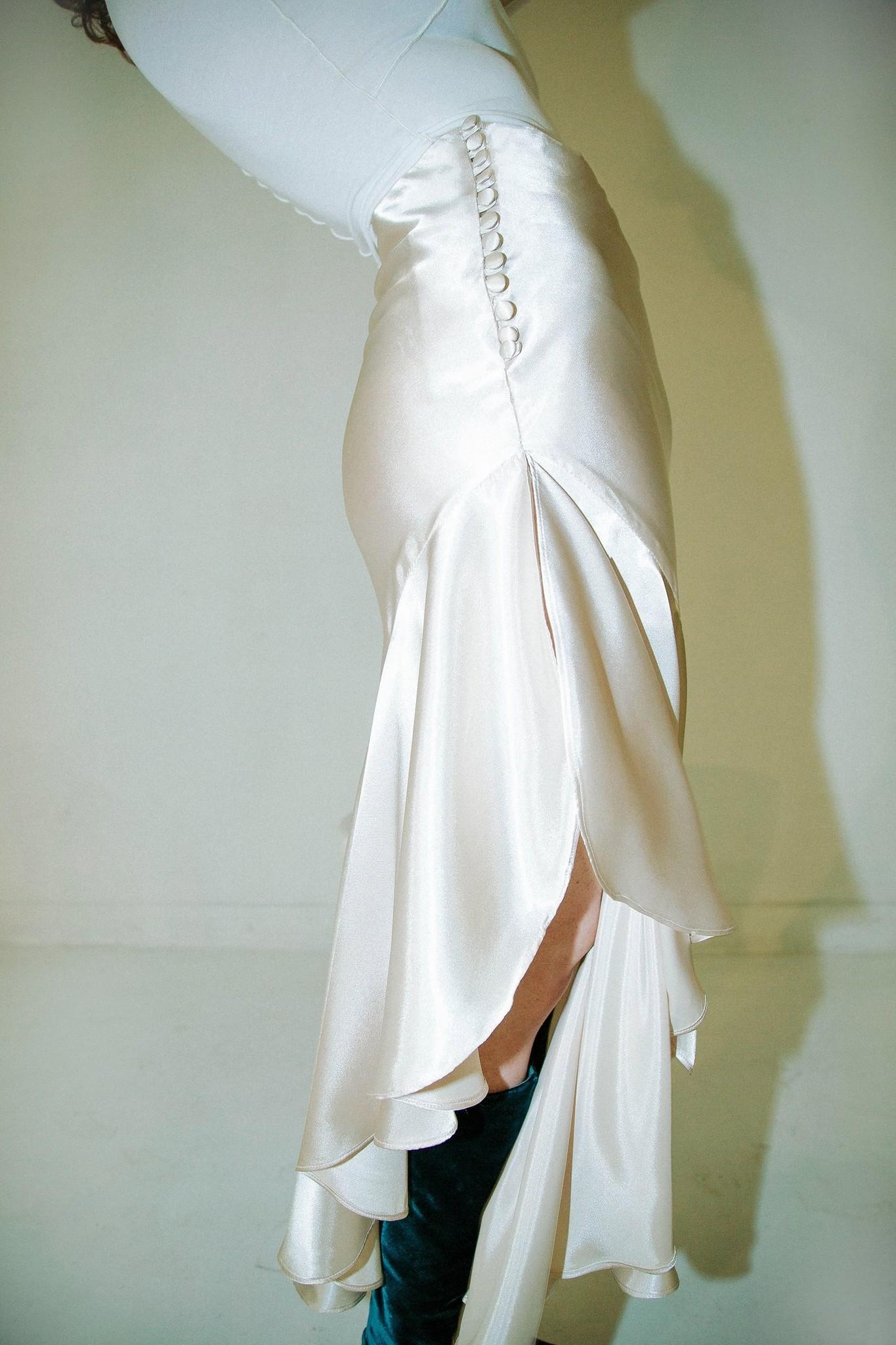 Line by K Bibi Skirt, Champagne