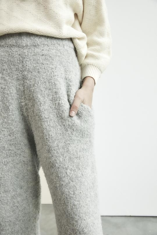 Wol Hide Lounge Jogger, Heather Grey