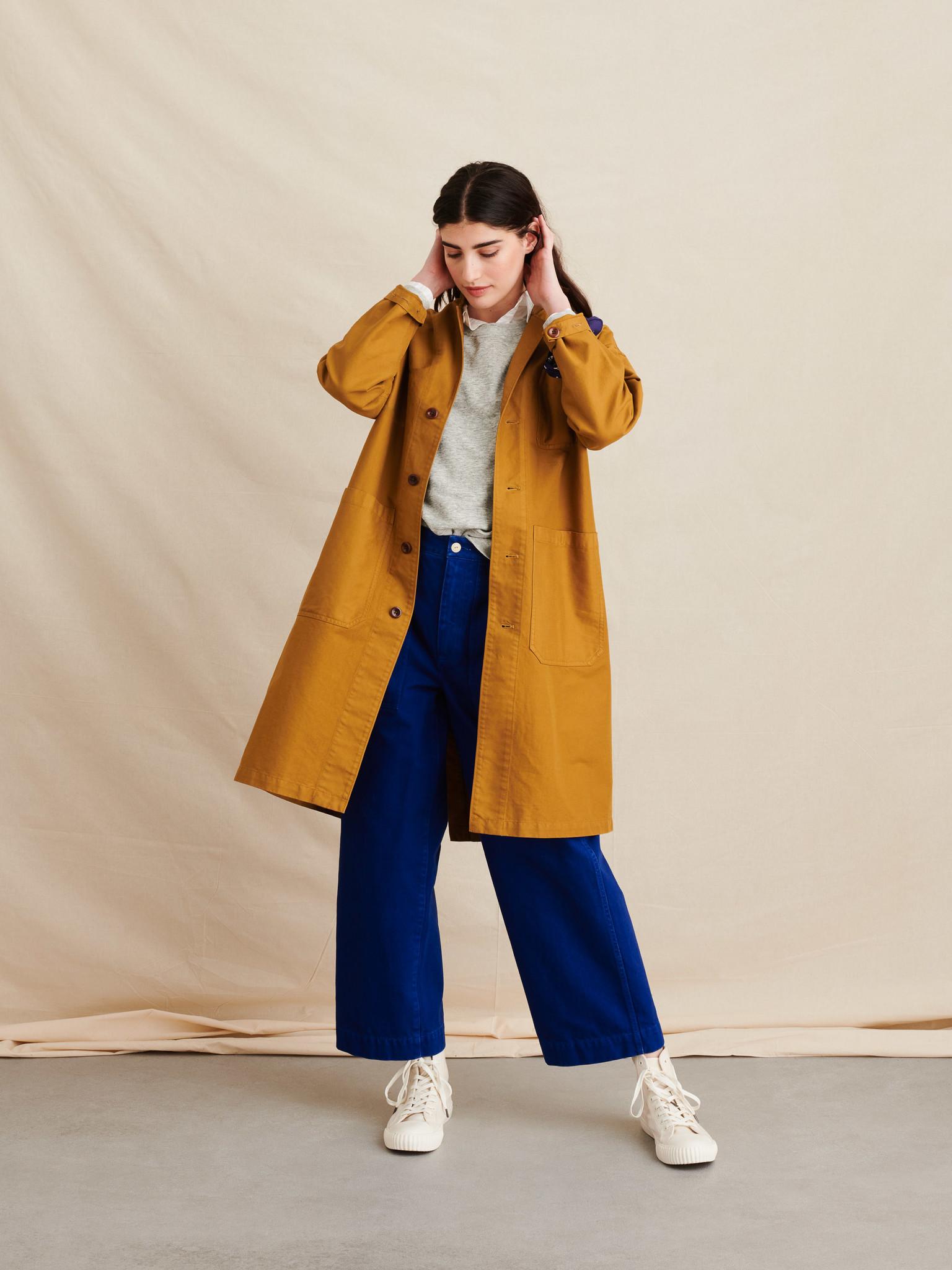 Alex Mill Golden Khaki, Long Work Jacket