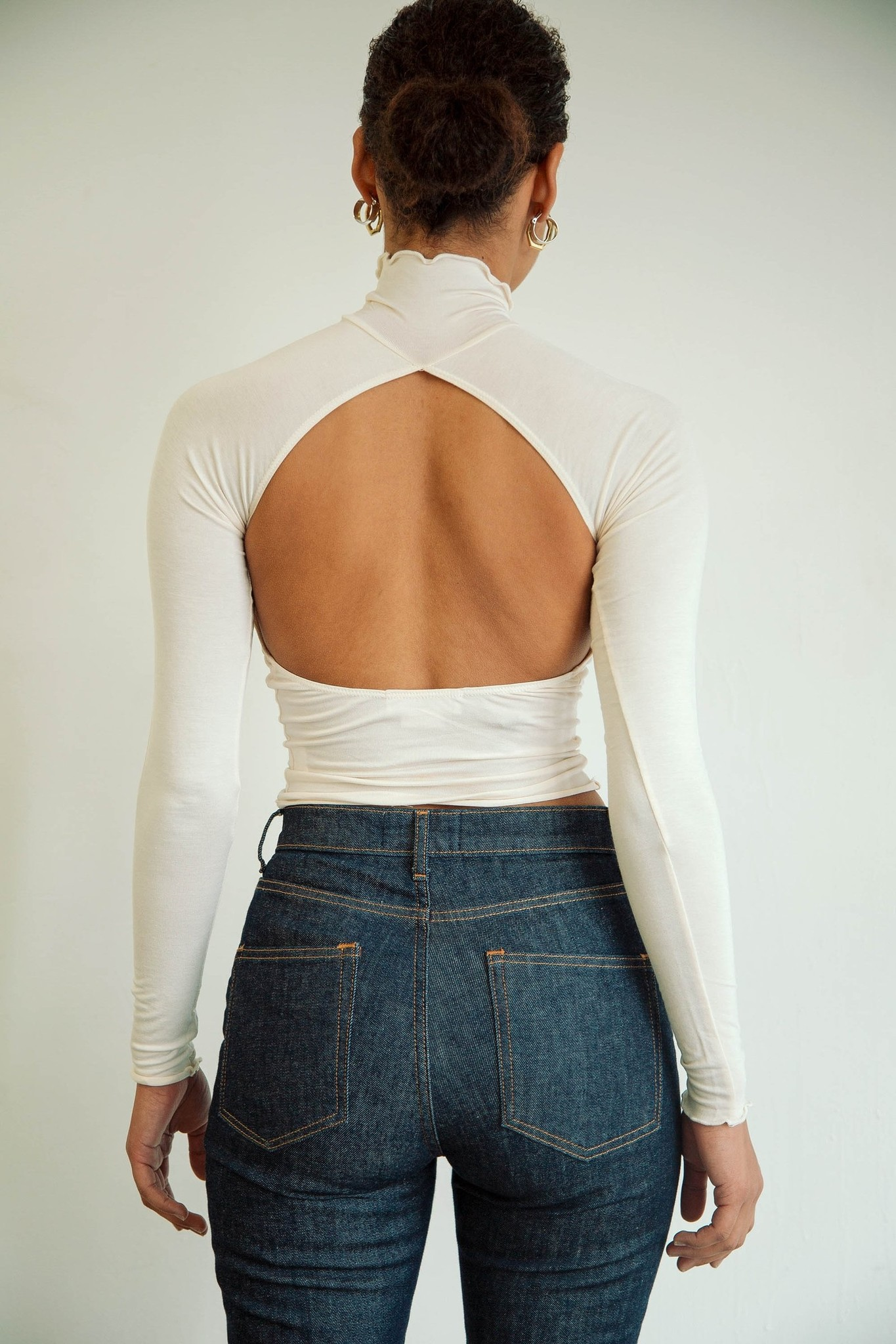 Line by K Margaux Top, Ivory